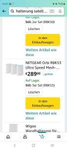 Netgear Orbi RBK53 Ultra