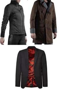 Deus Ex Jacke Damen Jacke (17,50€) / Dragon Age Trenchcoat (19,50€) / Hitman Herren Blazer (15€)