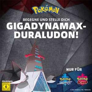 Dynakristall kostenlos für die Begegnung mit Gigadynamax-Duraludon für Pokémon Schwert und Schild