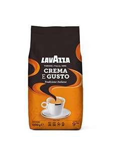 [Amazon Coupon + Sparabo] 1Kg Lavazza Kaffeebohnen - Crema e Gusto Tradizione Italiana (ggf. personalisiert)