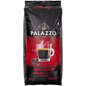 1,2 kg Palazzo Kaffeebohnen Regular oder Dark Roast beim Action Markt