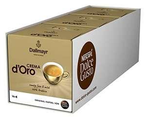 NESCAFÉ Dolce Gusto Dallmayr Crema d'Oro   48 Kaffeekapseln (AMAZON PRIME)