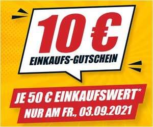 10 Euro Gutschein bei 50 Euro Einkaufswert [B1 Baumarkt / nur 03.09.]