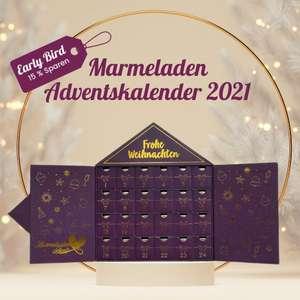 Off Season: Marmeladen Adventskalender mit 15% Rabatt + kostenloser Marmelade oder -5€ + kostenfreie Versand