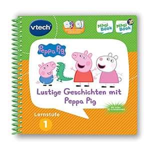 Vtech Magibook Lernstufe 1 - Lustige Geschichten mit Peppa Pig für 5,40€ (Amazon Prime)