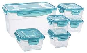 Amazon Basics Frischhaltedosen Set mit 6 Dosen in 3 Größen für 9,87€ mit Prime