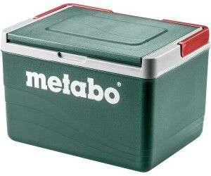 Metabo - passive Kühlbox mit 11 l Volumen [Platz für 12 eiskalte Dosenbier à 0,5 Liter]