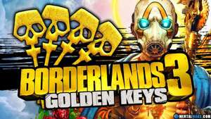 Borderlands 3 - 3 Goldene Schlüssel für alle Plattformen