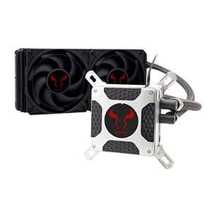 RIOTORO BiFrost TR-240 Wasserkühlung Komplettset schwarz 240 x 45 mm für Intel und AMD Prozessoren
