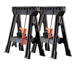 Stahlwerk 2er Set Multifunktionale Arbeitsböcke Klappböcke
