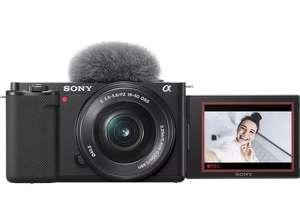 Sony ZV-E10 Kit mit 16-50mm Objektiv (Saturn Card)