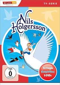 Nils Holgersson - Komplettbox (9 DVDs) für 18,97€ (Amazon Prime)