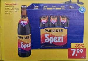 Paulaner Spezi koffeinhaltiges 20x0,5 Liter Kiste (Lokal ?) Ab 02.09 Netto MD