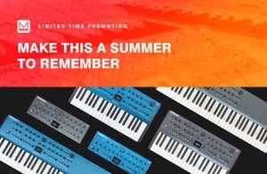MODAL Electronics Cashback von 50€ beim Kauf eines Synthesizers aus der COBALT oder ARGON Serie [Musikinstrumente]