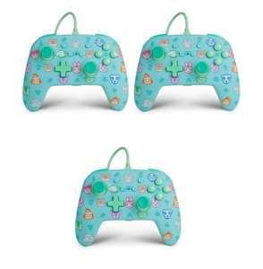 3x PowerA Nintendo Switch Enhanced Wired Controller Animal Crossing für 40,70€ (Amazon ES)