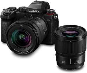 Panasonic Lumix S5 Systemkamera inkl. 20-60mm F3,5-5,6 & 50mm F1,8 Objektiv