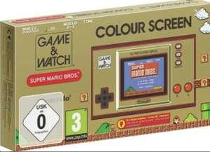 [Lokal Saturn Münster] Nintendo Game & Watch: Super Mario Bros. Spielkonsole für 22€