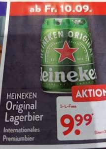 [Aldi Nord] Heineken Lagerbier Partyfass 5L mit CO2-Zapfsystem ab 10.09.
