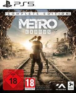 Metro: Exodus Complete Edition (PS5) für 26,99€ (Müller Abholung)