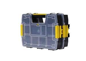 Stanley Sortmaster Doppelorganizer Werkzeugbox leer STST1-71197 – stapelbar (Prime)