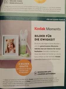 [Rossmann Babywelt] 3 Kodak Bilder 15x20cm gratis