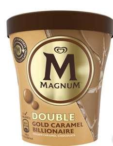 Magnum Double Gold Caramel Billionaire 440ml Becher