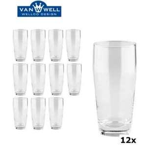 Van Well Gläser 0,3L mit Eichstrich 12er Set für 5,94€ inkl. Versand (Metro)