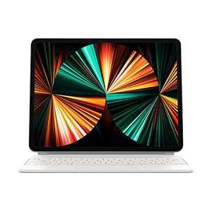 Amazon WHD IT: Apple iPad Magic Keyboard QWERTZ für iPad Pro 12.9 in Weiß zum Knallerpreis!