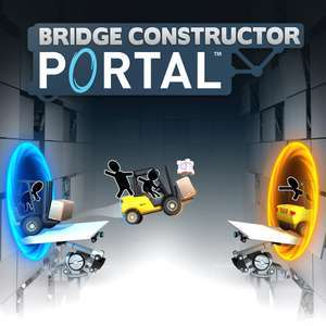 Bridge Constructor Portal (PS4) für 2,99€ (PSN Store PS+)