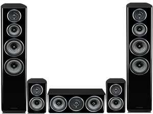 [IBOOD] Wharfedale Diamond 11.4 5.0-Lautsprecher-Set schwarz - wieder verfügbar