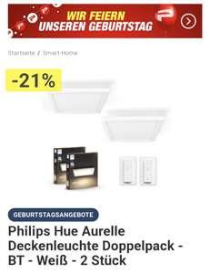 Philips Hue Aurelle Deckenleuchte *Doppelpack*