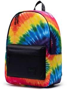 Herschel Classic Backpack XL in rainbow tie dye (30l Volumen, gepolstertes Rückenteil)