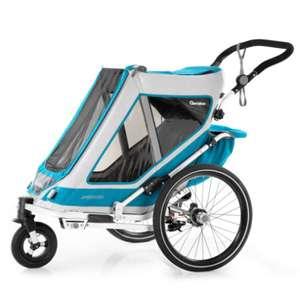 Qeridoo® Kinderfahrradanhänger Speedkid1 Petrol