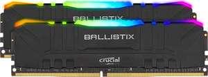 16GB (2x8GB) Crucial Ballistix RGB DDR4-3200 Black CL16 RAM Speicher Kit DDR4 Arbeitsspeicher