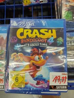 (Lokal) Saturn Bielefeld - Crash Bandicoot 4 It's About Time und Tony Hawk's Pro Skater 1+2 (PS4) je 19,99 EUR