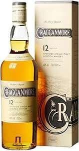 Cragganmore 12 Whisky 40% 0,7l für 26,31 bei Amazon