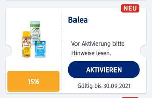 Payback / DM - Balea 15% Nivea Haarpflege 25% Rabatt + 40fach Punkte auf Finish & Guhl + 40fach Payback / Payback Pay (= ca. 20% mgl.)