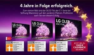 LG C1 Cashback Aktion bis 1000€