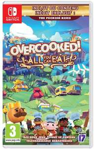 Overcooked! All You Can Eat (Switch) für 23,86€ (Amazon FR)