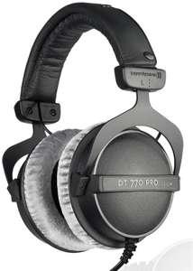 Beyerdynamic DT 770 PRO 250 Ohm - Over-Ear-Studiokopfhörer (5 - 35.000 Hz geschlossen, dynamisch) // 80 Ohm für 115,40€
