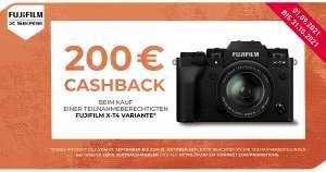 Fujifilm Cashback-Aktion: X-T4 Systemkamera Body/Kit (200€) bis 31.10