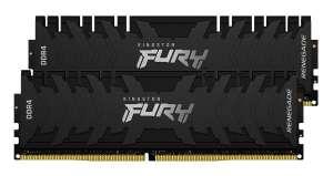 Kingston FURY Renegade Schwarz 16GB Kit (2x8GB) DDR4-3200 CL16 Arbeitsspeicher