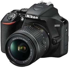 Nikon D3500 mit Kitobjektiv 18-55mm f3,5-5,6