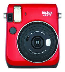 FUJIFILM Instax Mini 70 rot Sofortbildkamera [Expert]
