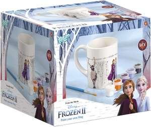 Frozen II Bemalen Disney Becher zum Selbstbemalen: Tasse zum Ausmalen inkl. Farben & Pinsel für 3,50€ (Müller Abholung)