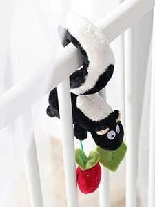 SIGIKID Plüsch-Anhänger Stinktier Baby Activity On Tour, zum Einhängen am Kinderwagen, Maxi-Cosi etc., empfohlen ab Geburt [Prime]