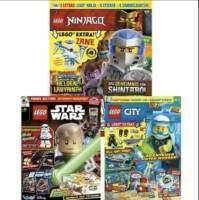 LEGO Magazine (mit Extras) im Jahresabo mit 46,67% Rabatt: LEGO Ninjago für 34,66 € - LEGO City für 28,16 € - LEGO Star Wars für 32 €