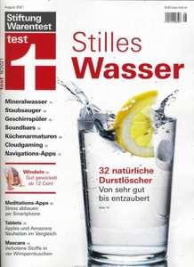 Stiftung Warentest Magazine im Abo mit Rabatt: Test und Finanztest für jeweils 36,80 € (statt 69 €)