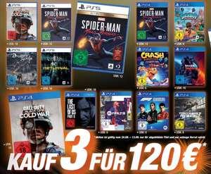 3 für 120€ Aktion: Returnal + Demon's Souls + Mass Effect Legendary u.a. für je 40€ [Lokal Expert Technomarkt, PS4 PS5]