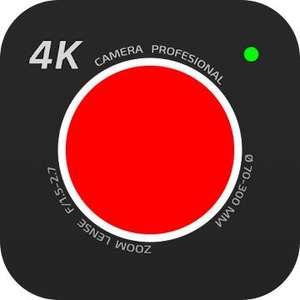 [Google Playstore] 4K-Kamera - Filmemacher Pro Camera Movie Recorder